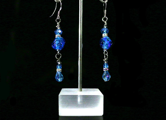 Dichroic Earrings Set 5