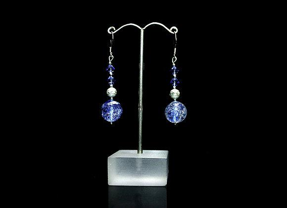 Dichroic Earrings Set 1