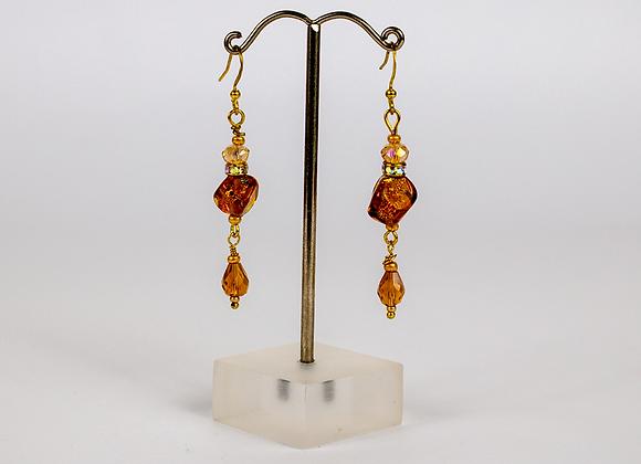 Dichroic Earrings Set 5
