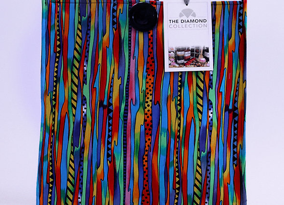 Jagged Rainbow Patterns
