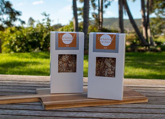 Caramel Coconut Crunch Bark