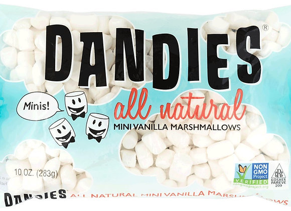 Mini Vegan Marshmallows