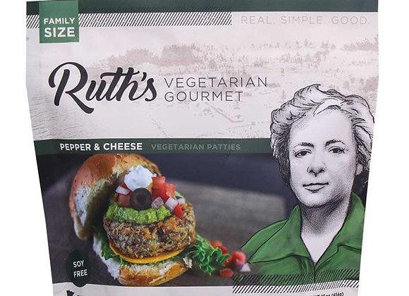 Ruth's Pepper and Cheese Veggie Sliders