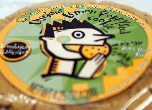 Lemon Poppyseed Cookie - Vegan