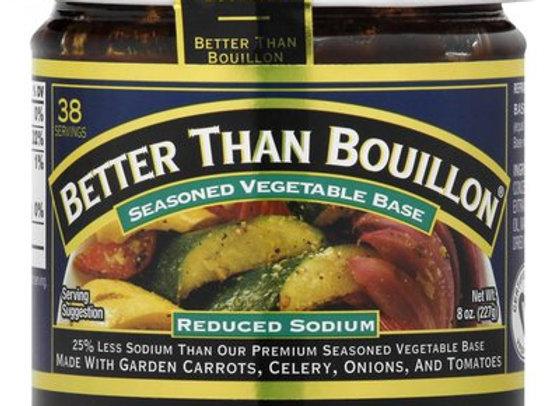 Seasoned Vegetable Base - Reduced Sodium