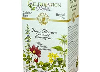 Hops Flowers with Lemongrass Tea