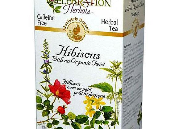 Hibiscus/Lemongrass Blend Tea