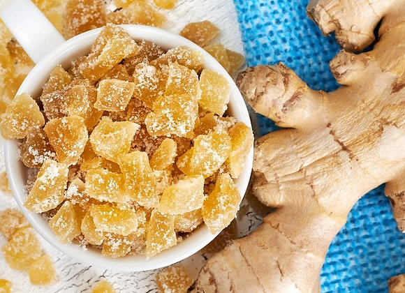 Swt Sugar Diced Ginger