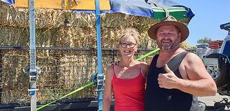 Mark & Janine Kelly deliver hay.jpg