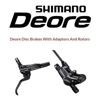 Shimano Deore m6000 brakeset