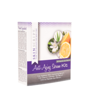 Skinscript Anti Aging Serum Kit with Peptide Eye Serum