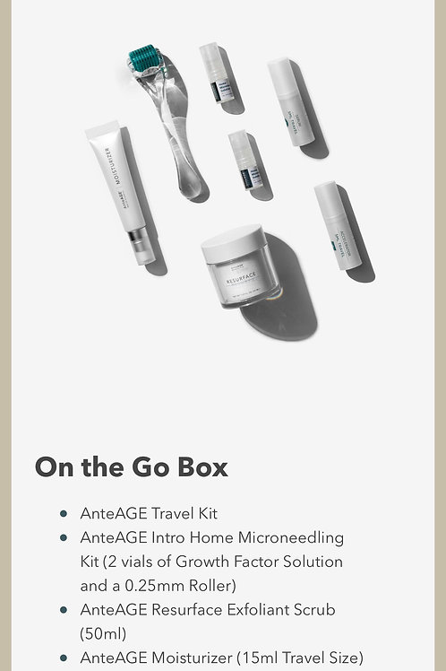 AnteAGE Growth Factors To Go Box Kit