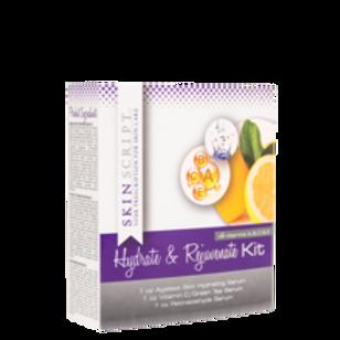 Skinscript Hydrate and Rejuvenate Serum Kit