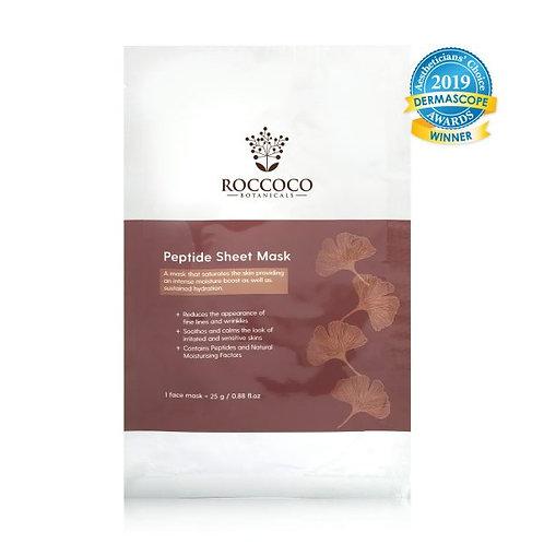 Roccoco Peptide Sheet Mask Single