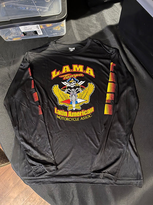 Men LAMA Tampa Long Sleeve, Round Neck Shirt