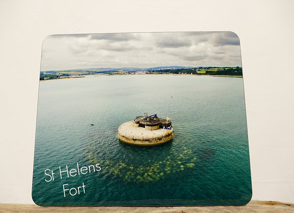 St Helens Fort Placemat