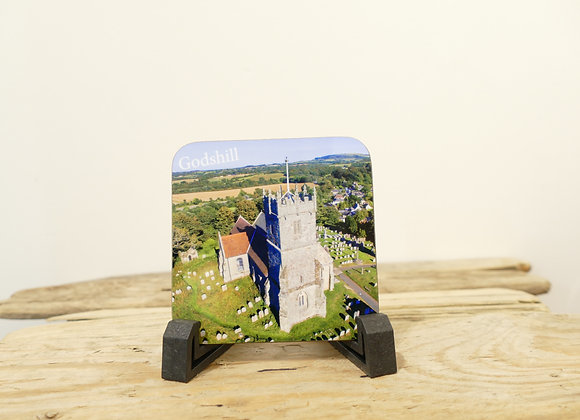 Godhill Church Coaster