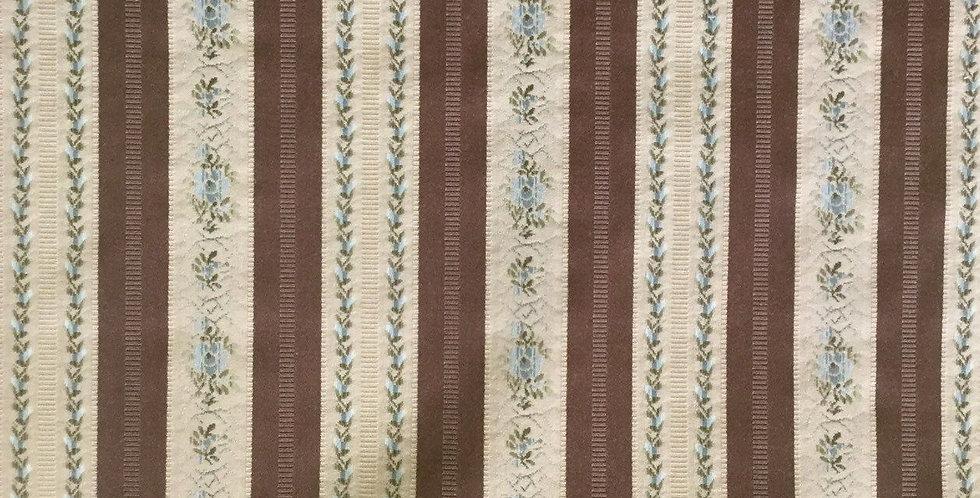 Victorian Embroidered Stripe