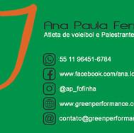 CVGP_verso_Green Performance Veganismo - Cartão verso