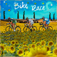 Ilustrações personalizadas - Bike