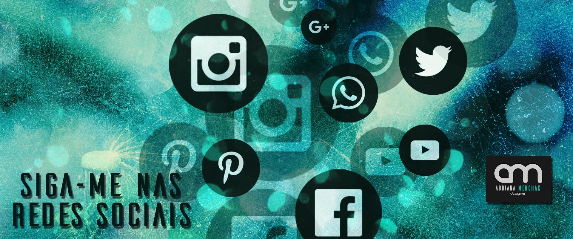 Siga-me nas redes sociais