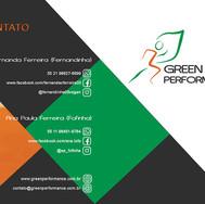 Folder Capa e Green Performance Veganismo - Folder externo