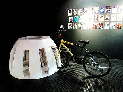 Paraciclo não permanente par eventos em espaços públicos