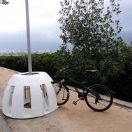 Paraciclo não permanente para eventos em espaços públicos