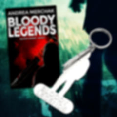 Silver Keychain Bloody Legends
