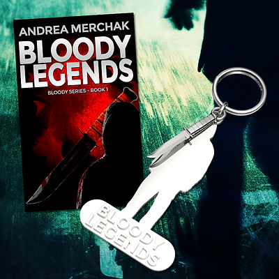 Silver Keychain Bloody Legends