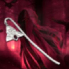 Silver Bookmark Crowley's Cult