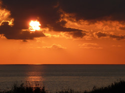 tramonto in sicilia