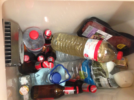 Il frigorifero dopo 4 mesi.