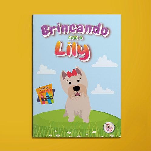 Brincando com a Lily: livro de atividades