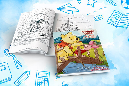 Winnie the Pooh Big Fun Book to Color