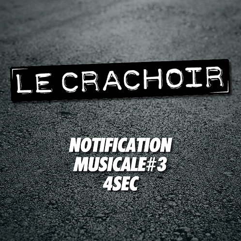 Notification musicale #3: 4 secondes