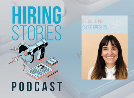 Hiring Stories Podcast - EP12: Chloé Freslon