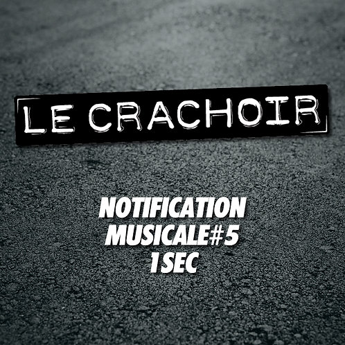 Notification musicale #5: 1 seconde
