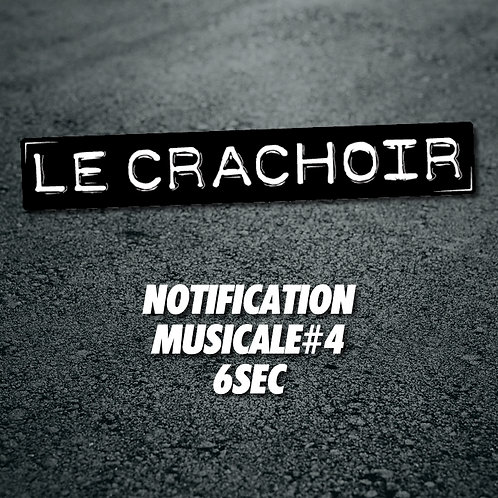 Notification musicale #4: 6 secondes