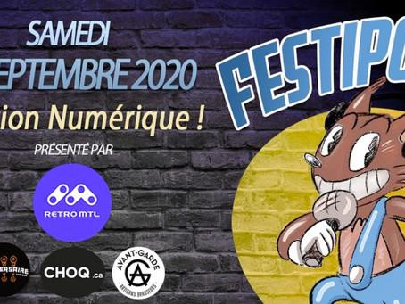 Le Festipod Numérique 2020 sur les ondes de RadioH2O !