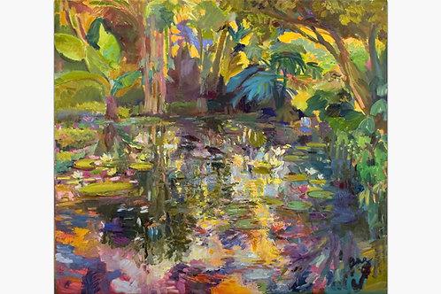 Waimea Pond by Ana Monaghan