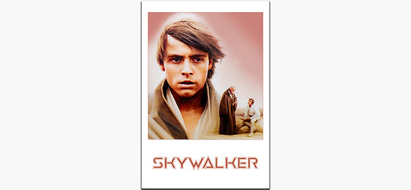 Luke Skywalker on metal
