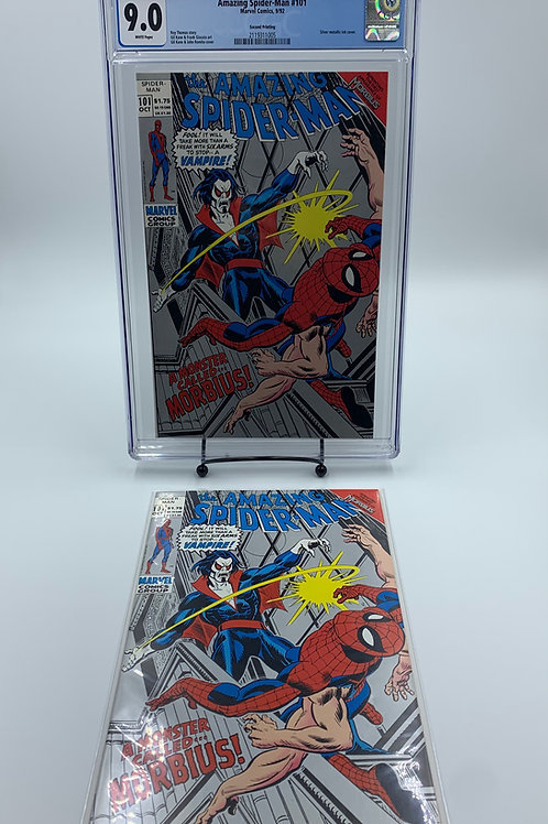 Amazing Spider-Man #101 CGC 9.0 with Reader Mint