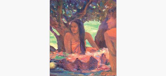Tahitians by Ana Monaghan