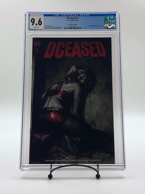 DCeased #1 Lee Variant Cover DC Comics CGC 9.6