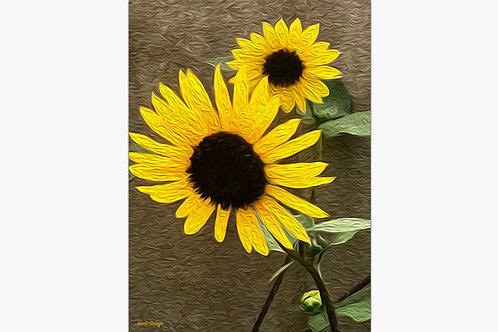 Mother Sunflower By Irene Griego