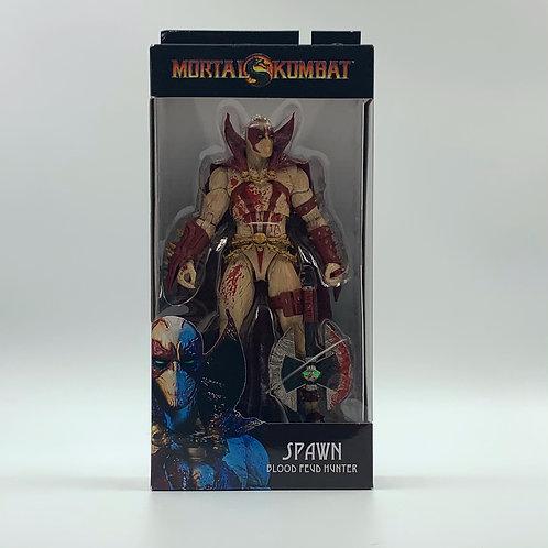McFarlane SPAWN BLOOD FEUD Hunter Mortal Kombat 11 BLOODY VARIANT Figure