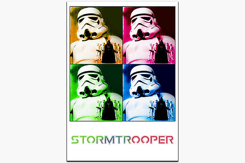 Stormtropper Abstract on Metal