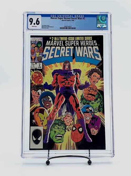 Marvel Super Heroes Secret Wars #2 CGC 9.6