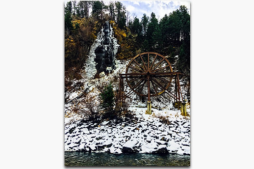 Charlie Tayler Waterfall Wheel Winter